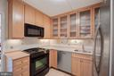 Large fridge, undercounted lighting - 5500 FRIENDSHIP BLVD #1616N, CHEVY CHASE