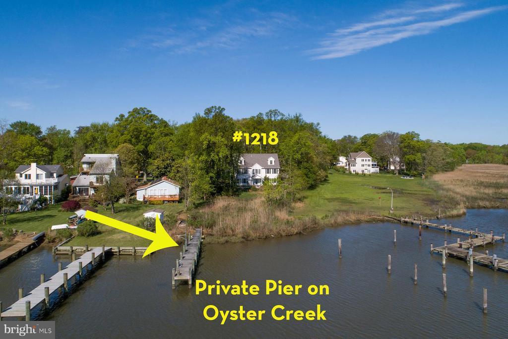 Fantastic home and private pier - 1218 WASHINGTON DR, ANNAPOLIS
