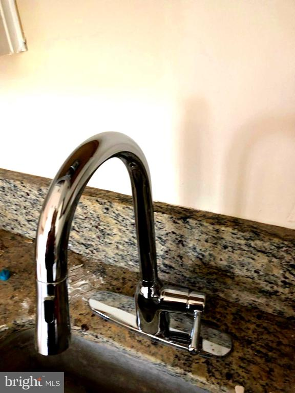 New Moen faucet with spray and new Disposer - 1254 BOND ST, HERNDON