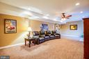 Great space for watching movies or games. - 3 MOUNT ARARAT LN, STAFFORD