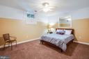 5th Bedroom with large closet (NTC) - 3 MOUNT ARARAT LN, STAFFORD