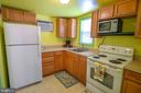 Full kitchen in guest cottage - 339 LAKE SERENE DR, WINCHESTER