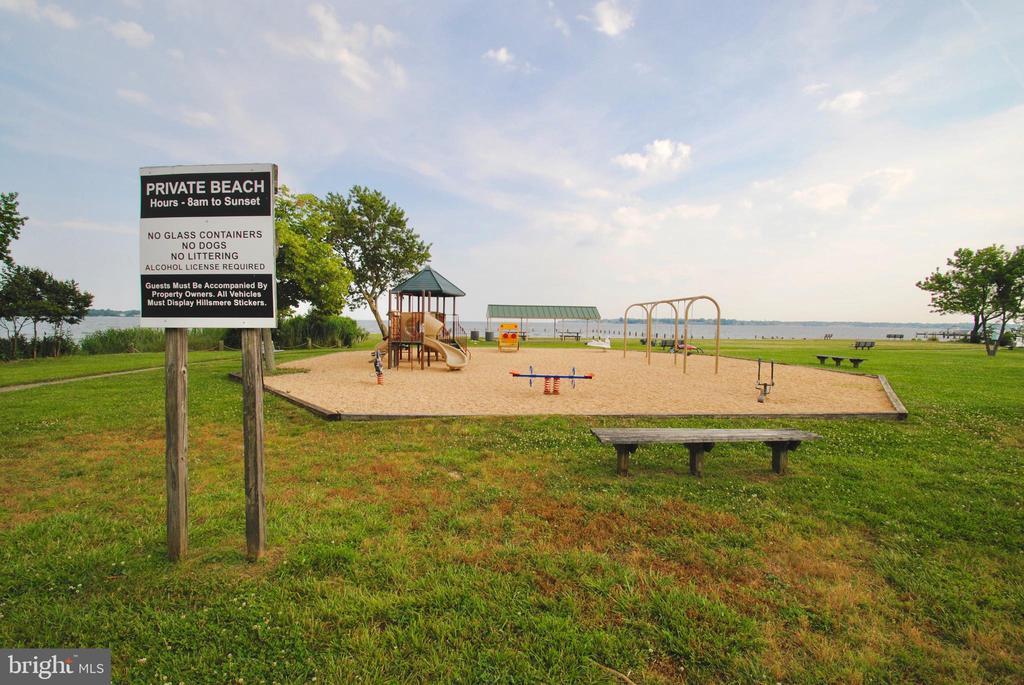 playground 2 at community beach - 449 POPLAR LN, ANNAPOLIS
