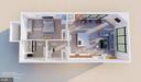 Design Concept 1 - Aerial View - 1314 21ST ST NW #1, WASHINGTON
