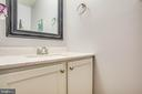 Half bath on the main level - 3408 TITANIC DR, STAFFORD