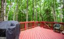 Upper deck off of family room - 3408 TITANIC DR, STAFFORD