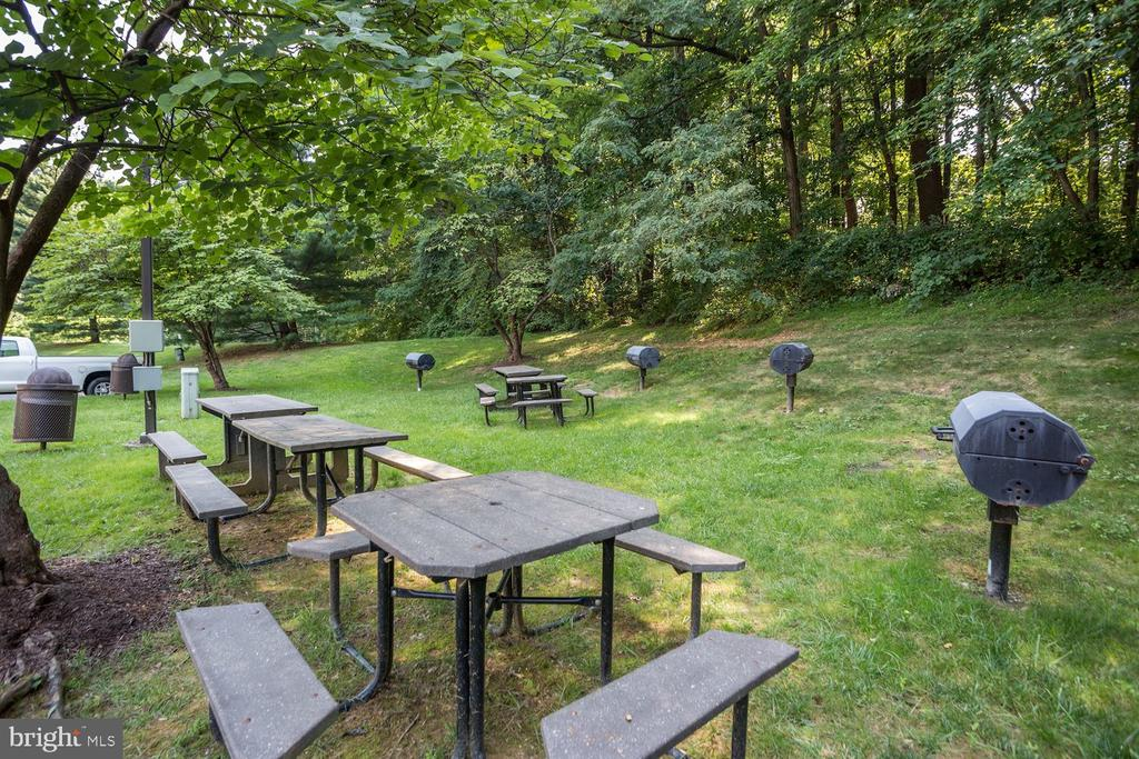 Plenty of grills and picnic areas. - 2230 GEORGE C MARSHALL DR #827, FALLS CHURCH