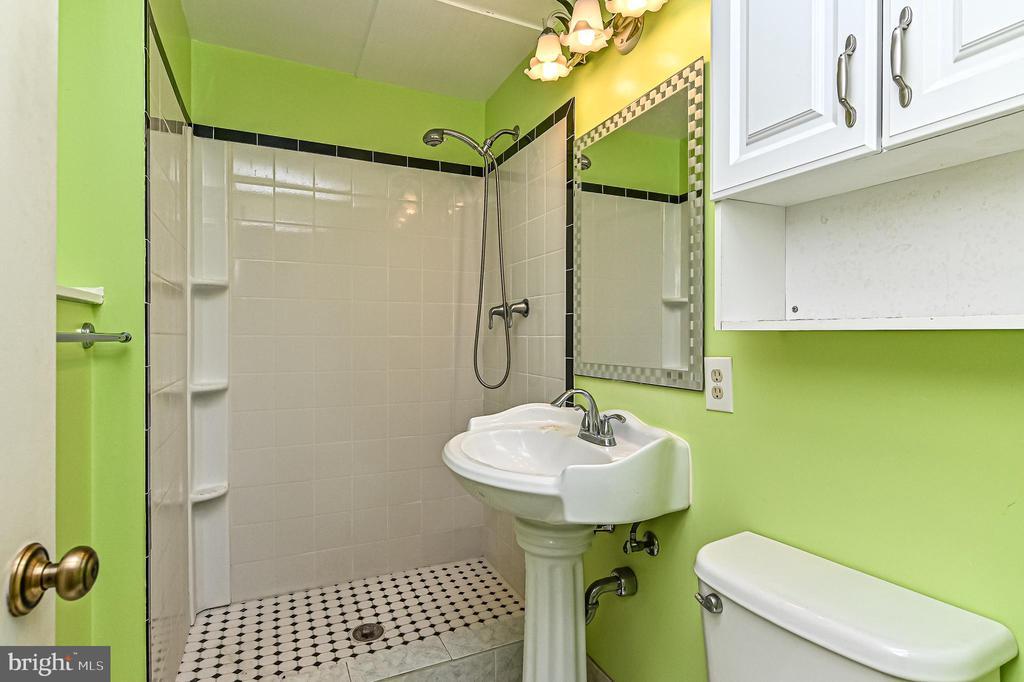 full bath in Basement - 6100 PINTO PL, SPRINGFIELD