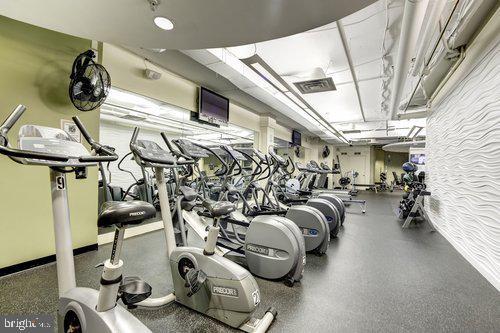 Amazing gym. - 2230 GEORGE C MARSHALL DR #827, FALLS CHURCH