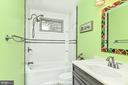 3rd level hall bath - 6100 PINTO PL, SPRINGFIELD