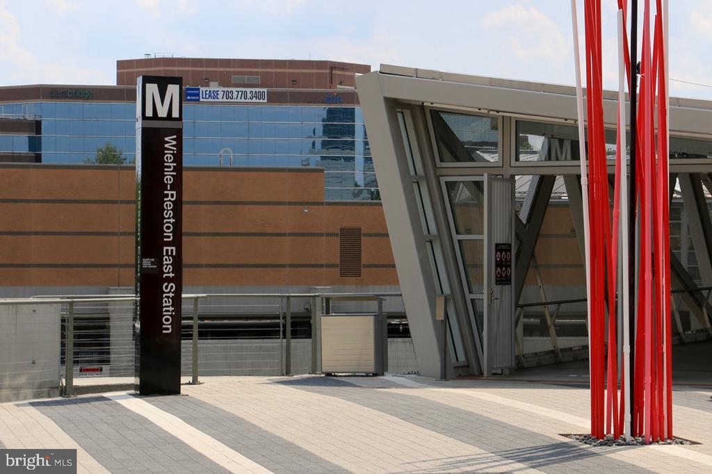 Wiehle Metro Station - 11331 BRIGHT POND LN, RESTON