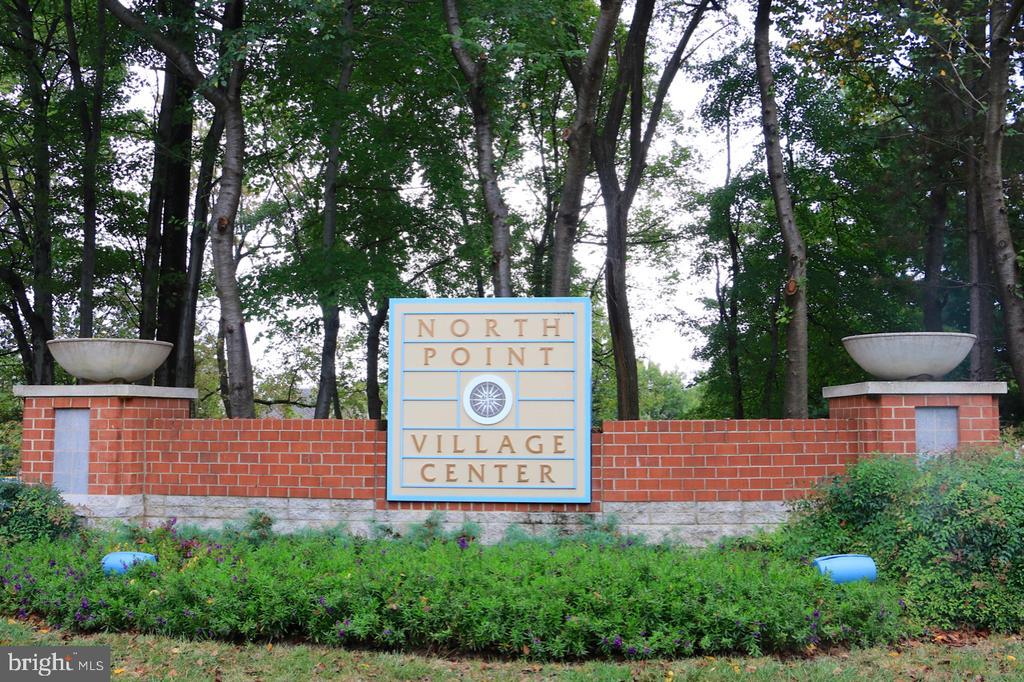 North Point Village Center is very convenient - 11331 BRIGHT POND LN, RESTON