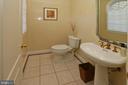 Renovated powder room - 11331 BRIGHT POND LN, RESTON