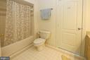 Tub/shower between the two bedrooms - 11331 BRIGHT POND LN, RESTON
