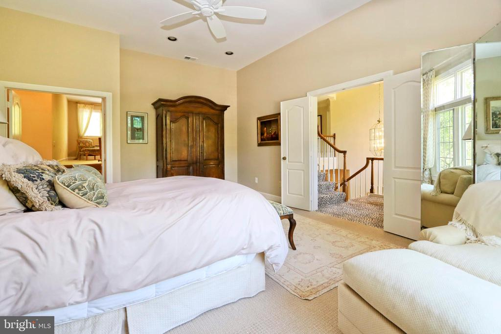 Double walk-ins, high ceilings and lots of privacy - 11331 BRIGHT POND LN, RESTON