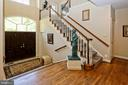 Amazing two-story foyer - 11331 BRIGHT POND LN, RESTON
