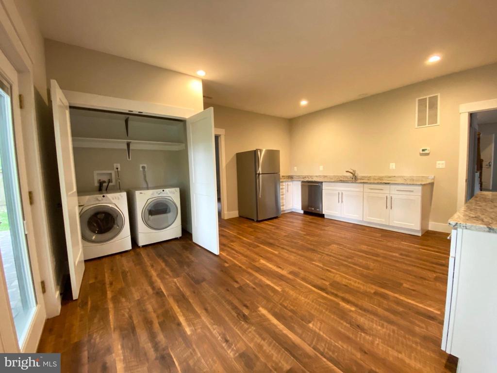 lower level laundry - 7627 LISLE AVE, FALLS CHURCH