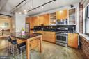 Midnight black granite countertops - 916 G ST NW #401, WASHINGTON