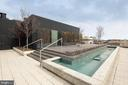 Roof Top with Water Feature - 920 I ST NW #1007, WASHINGTON