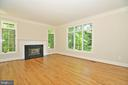 Living room - 2993 WESTHURST LN, OAKTON