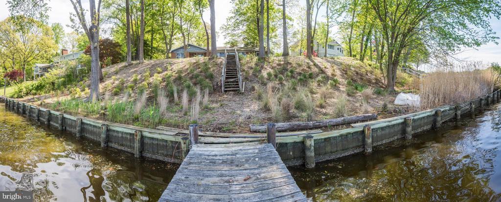 Panoramic View Of Bulkhead - 1914 HIDDEN POINT RD, ANNAPOLIS