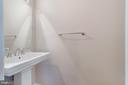 Lower Level Half Bathroom! - 5266 BALLYCASTLE CIR, ALEXANDRIA