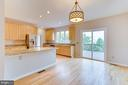 Combined Kitchen/Dining Room Access to Patio! - 5266 BALLYCASTLE CIR, ALEXANDRIA