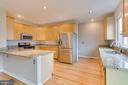 Spacious Kitchen with room for stools! - 5266 BALLYCASTLE CIR, ALEXANDRIA