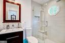 Upper level totally-renovated ensuite bath - 11012 BURYWOOD LN, RESTON