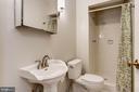 Lower Level Full Bath - 3747 1/2 KANAWHA ST NW KANAWHA ST NW, WASHINGTON