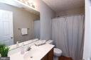 upstairs bathroom - 3211 MAGNOLIA RIDGE RD, ANNAPOLIS