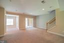 Fully finished lower level with walkout patio - 214 ZINFANDEL LN, ANNAPOLIS