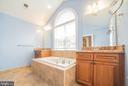 Master Bath with Double Vanity - 214 ZINFANDEL LN, ANNAPOLIS
