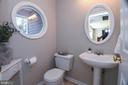 first floor half bath - 3211 MAGNOLIA RIDGE RD, ANNAPOLIS