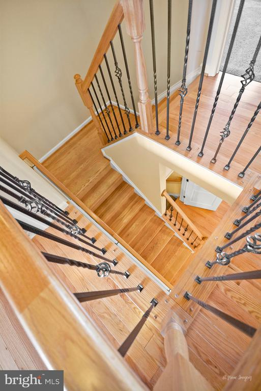 Details! Check out the custom handrails - 3029 STONERS FORD WAY, FREDERICK