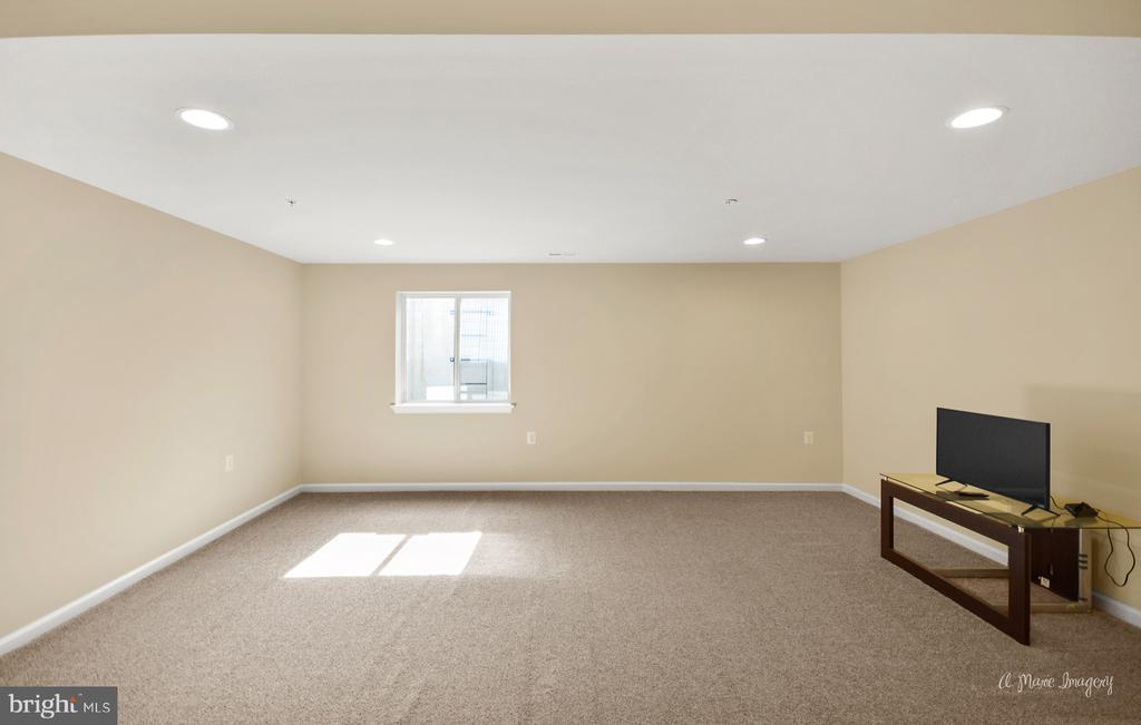 Large lower lever rec room great for hanging out - 3029 STONERS FORD WAY, FREDERICK