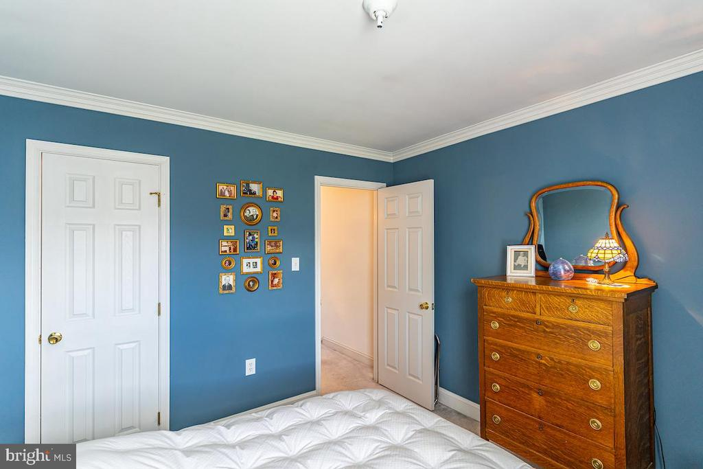 2nd bedroom and walk-in closet & door to hall - 1426 SWANN ST NW, WASHINGTON