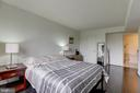 Welcome to your master suite! - 2230 GEORGE C MARSHALL DR #827, FALLS CHURCH