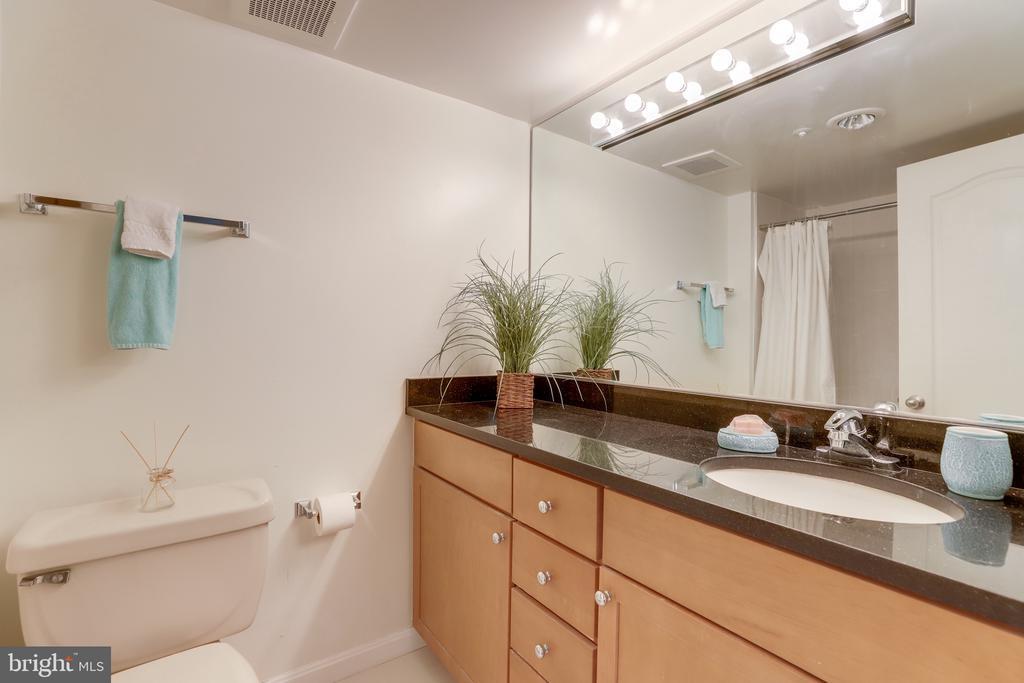 En-suite bathroom. - 2230 GEORGE C MARSHALL DR #827, FALLS CHURCH