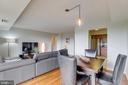 Separate dining area. - 2230 GEORGE C MARSHALL DR #827, FALLS CHURCH
