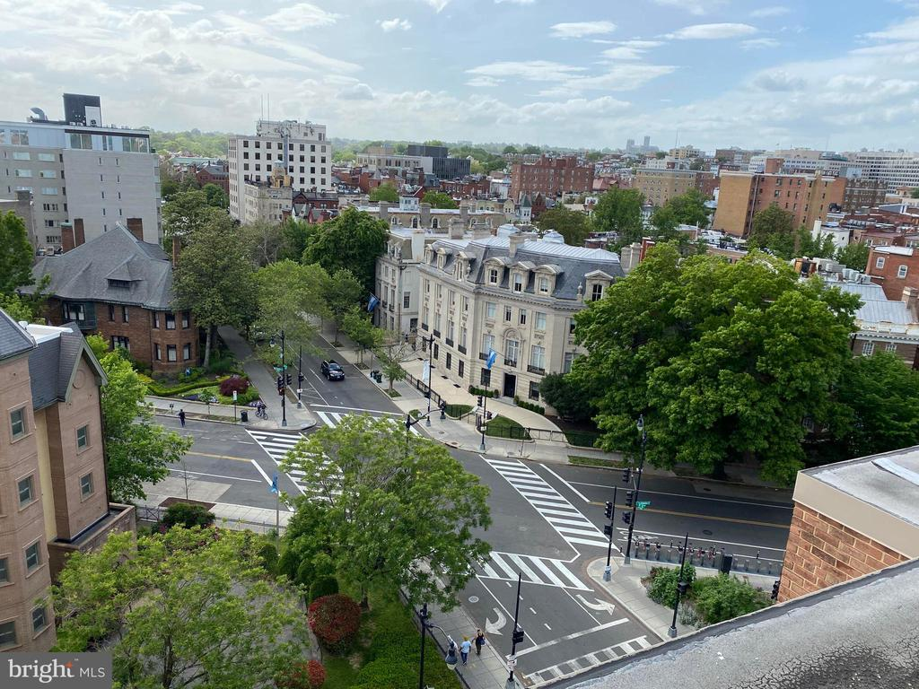 Rooftop view - 1545 18TH ST NW #502, WASHINGTON