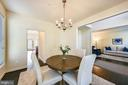 Separate formal dining room - 3428 COHASSET AVE, ANNAPOLIS