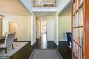 Elegant foyer leads you into the heart of the home - 3428 COHASSET AVE, ANNAPOLIS