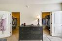 Dual master walk in closets - 3428 COHASSET AVE, ANNAPOLIS