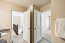 Upper level full bath - 3428 COHASSET AVE, ANNAPOLIS