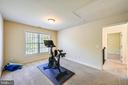 Second  upper level bedroom - 3428 COHASSET AVE, ANNAPOLIS