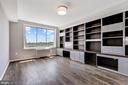 BR 2: Custom built-ins & space for furnishings - 10201 GROSVENOR PL #1701, NORTH BETHESDA