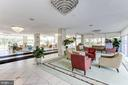 Lobby has front desk with 24/7 concierge - 10201 GROSVENOR PL #1701, NORTH BETHESDA