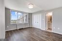 BR 3:  Separate from other BRs for guests' privacy - 10201 GROSVENOR PL #1701, NORTH BETHESDA