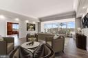 Ample space for formal LR & casual fam rm all in 1 - 10201 GROSVENOR PL #1701, NORTH BETHESDA